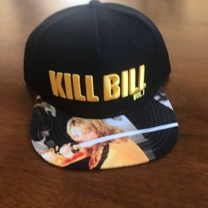 NWOT KILL BILL HAT WITH ADJUSTABLE STRAP